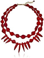 Barse Red Sea Bamboo Necklace