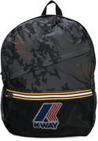 K Way Kids camouflage backpack
