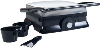 Classic Cuisine Chef Buddy Indoor Grill and Gourmet Sandwich Maker