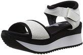 Qupid Women's DEXTER-01 Wedge Sandal