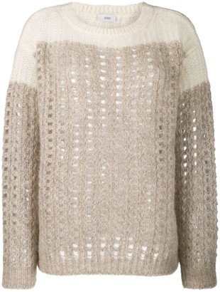 Closed Chunky Knit Jumper