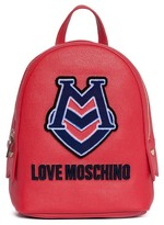 Love Moschino Patched Mini Backpack