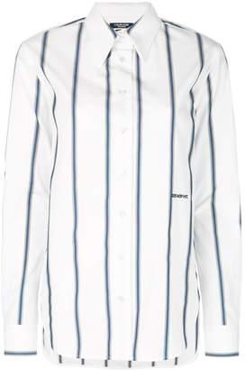 Calvin Klein Longline Striped Shirt