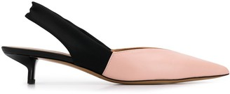 Emporio Armani Sling-Back Pointed Pumps