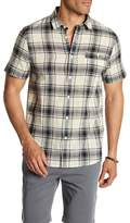 Threads 4 Thought Plaid Gauze Regular Fit Shirt