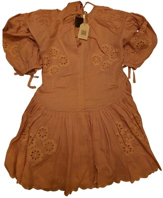 Innika Choo Pink Linen Dresses