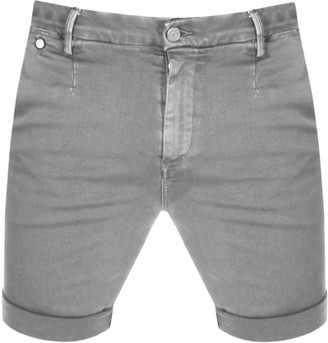 Replay Lehoen Denim Shorts Grey