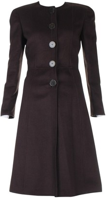 Valentino Brown Wool Coat for Women