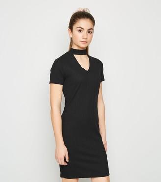 New Look Girls Choker Neck Dress