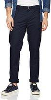 Wrangler Men's Chino Navy Trouser
