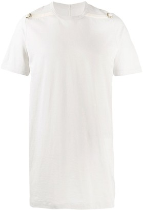 Rick Owens buckle detail T-shirt