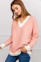 J.ING Jennifer Sweater Pink
