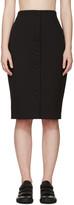 Harmony Black Gabardine Joan Skirt