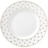 Kate Spade Larabee Road Gold Bone China Dinner Plate