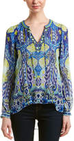 Hale Bob Beaded Silk Tunic