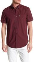 Ben Sherman Gingham Check Print Regular Fit Shirt