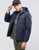 Element Freemont Parka Navy Quilted Lining