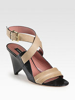 Derek Lam Pace Leather Ankle Strap Sandals