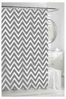 Kassatex Chevron Shower Curtain - Grey/White