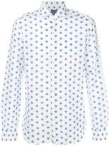 Barba long-sleeved patterned shirt