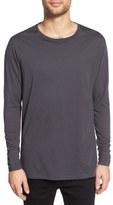 Zanerobe 'Flintlock' Longline Long Sleeve T-Shirt