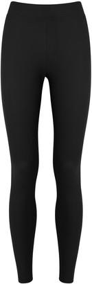 Wolford Black Stretch-neoprene Leggings