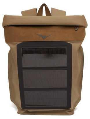 Sease - Mission Solar-panel Roll-top Backpack - Mens - Gold