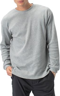 Zanerobe Waffle Knit Long Sleeve T-Shirt