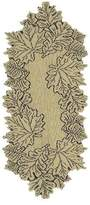 Heritage Lace Leaf 14-Inch by 36-Inch Runner