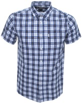 Barbour Sidmouth Gingham Shirt Navy