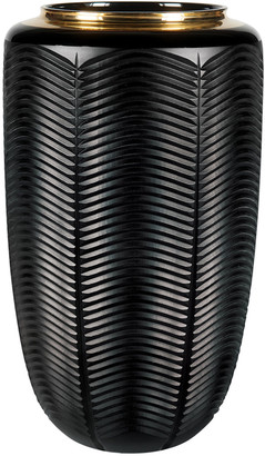 Vista Alegre Jet Black Large Vase