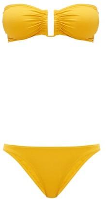 Eres Show & Fripon Bandeau Bikini - Yellow