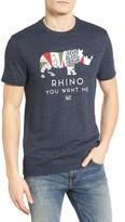 Original Penguin Men's Rhino You Want Me Graphic T-Shirt