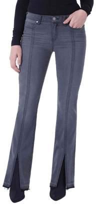 Liverpool Jeans Co Lucy Split Stitch Bootcut Jeans (Titanium Wash)