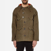 Nigel Cabourn Hybrid Finish Harris Tweed Cameraman Converse Jacket Army