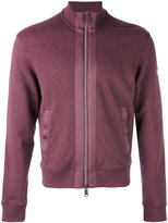 Armani Jeans zipped bomber sweatshirt - men - Cotton/Spandex/Elastane - S