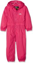Trespass girls Boys Girls Button Waterproof Breathable Rainsuit