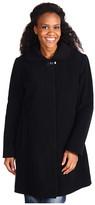Nautica - Clip Coat w/ Knit Collar
