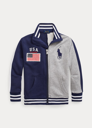 Ralph Lauren Cotton French Terry Jacket