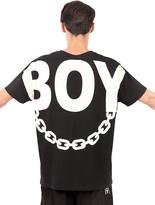 Boy London Boy Chain Printed Cotton T-Shirt