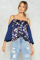 Nasty Gal nastygal Got It Bud Floral Top