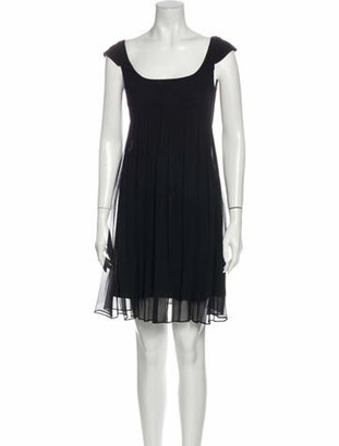 Narciso Rodriguez Virgin Wool Knee-Length Dress w/ Tags Wool
