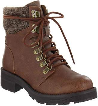 Mia Shoes Combat Boots - Lindsey