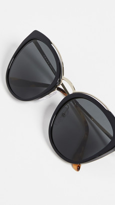 Prada PR 20US Cat Eye Sunglasses