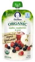 Gerber 2nd Foods® Organic 3.5 oz. Apples, Raspberries and Acai