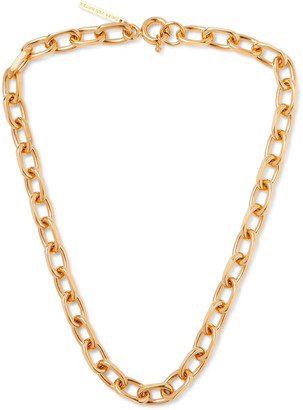 Dries Van Noten Gold-Tone Chain Necklace