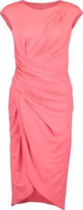 Michael Kors Ruched Jersey Tulip Dress