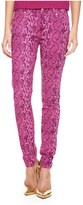 Juicy Couture Printed Python Skinny