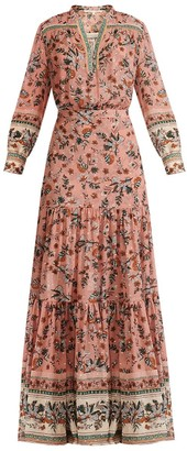 Veronica Beard Sama Floral Dress