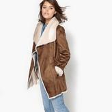 Best Mountain Faux Sheepskin Coat